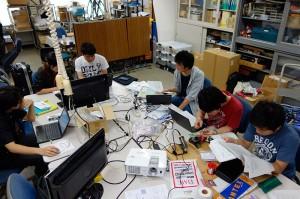 ある研究室でのPBLの様子