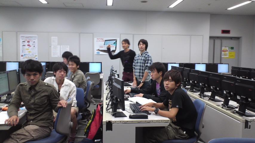 元木 淳子 教授授業風景